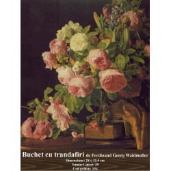 Buchet de trandafiri de Ferdinand Georg Waldmuller