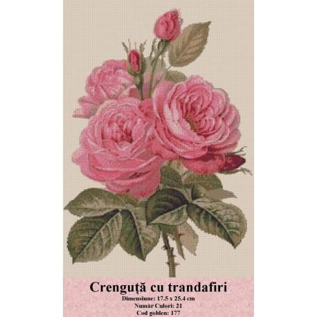 Crenguta cu trandafiri