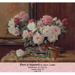 Flori si bijuterii de Albert Caullet