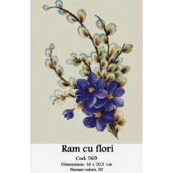 Ram cu flori