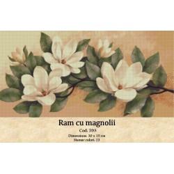 Ram cu magnolii