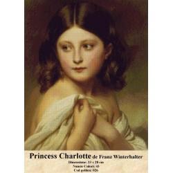 Printess Charlotte de de Franz Winterhalter