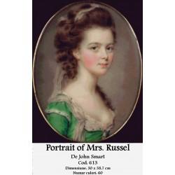 Portrait of Mrs Russel