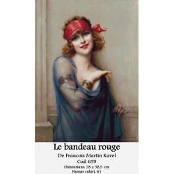 Le bandeau rouge   de Francois Martin Kavel