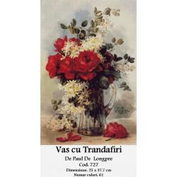 Vas cu Trandafiri de Paul De Longpre