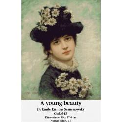 A young beauty de Emile Eisman Semenowsky