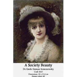 A Society Beauty de Emile Eisman Semenowsky