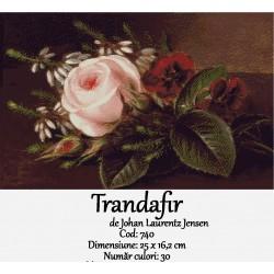 Trandafir de Johan Laurentz Jensen