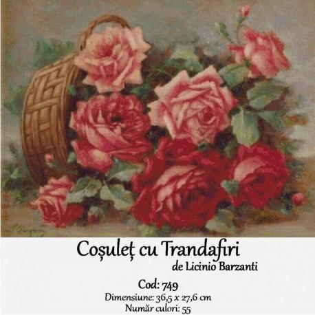Cosulet cu Trandafiri de Barzanti