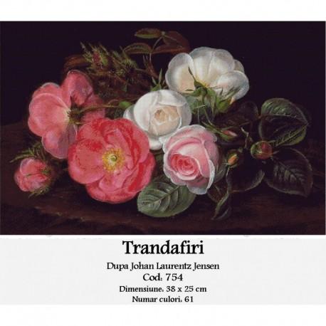 Trandafiri de Johan Laurentz Jensen