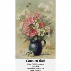 Cana cu flori de Paul Delongpre
