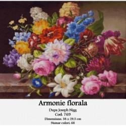Armonie florala de Joseph Nigg