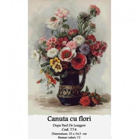 Canuta cu flori de Paul Delongpre