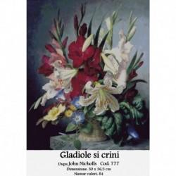 Gladiole si crini