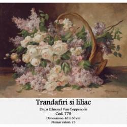 Trandafiri si liliac de Edmond Van Coppenolle