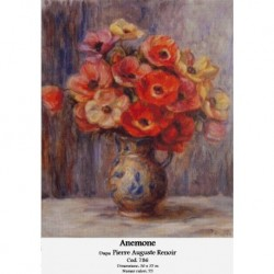Set goblen - Anemone dupa Pierre Auguste Renoir