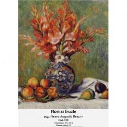 Set goblen - Flori si fructe dupa Pierre Auguste Renoir