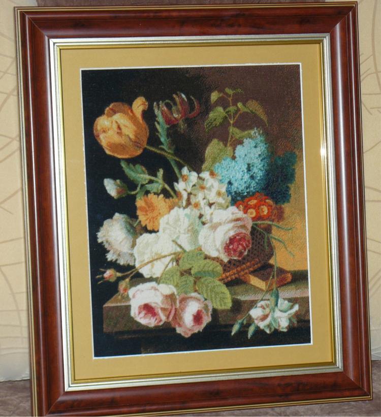 Goblen Cusut – Flori de Primavara