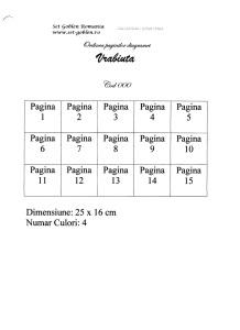 schema diagramelor