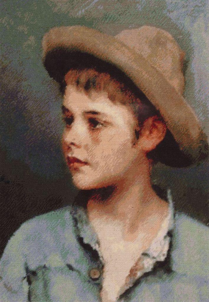 Portret de baiat, 20-29 cm, 33 culori