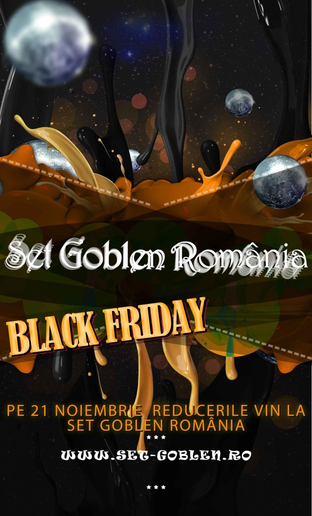 Promotie Set Goblen Romania