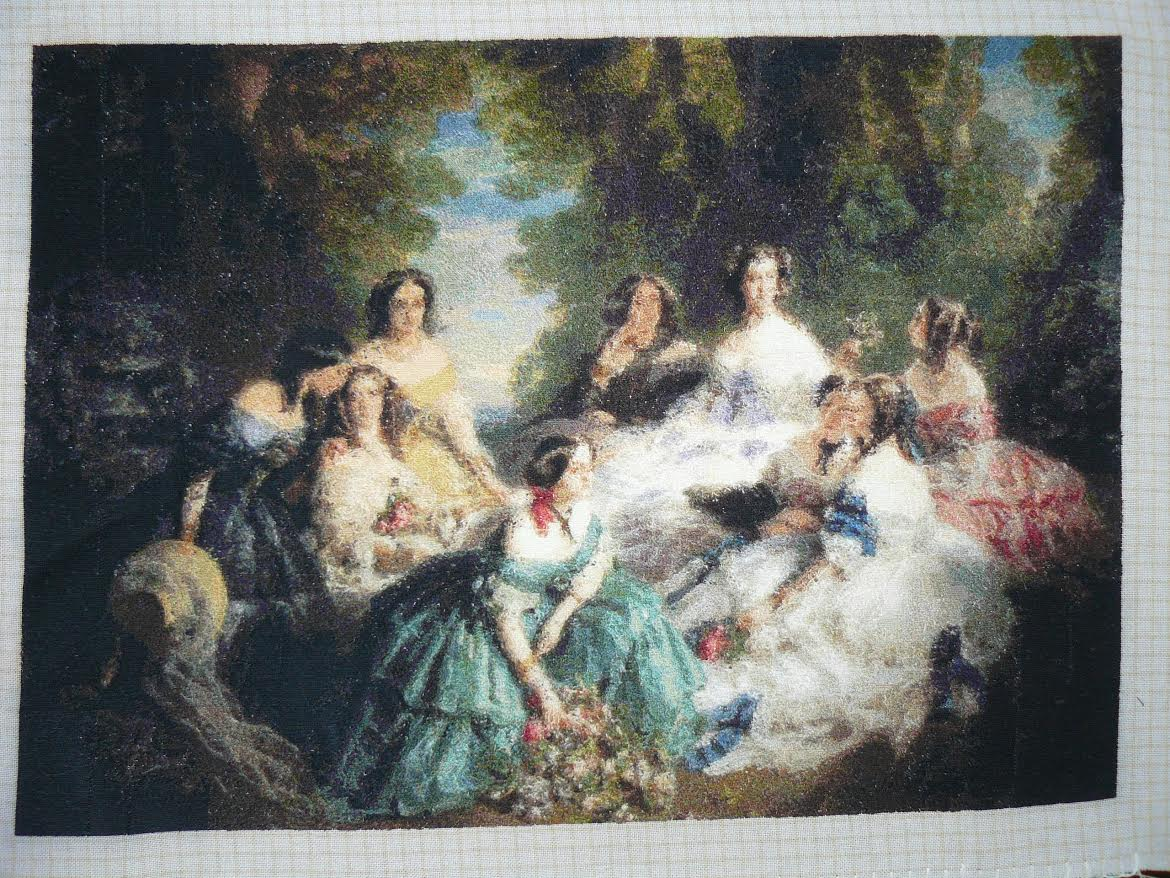 Goblen Cusut – Empress Eugenie Surrounded by her Ladies in Waiting