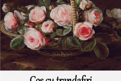 Set Goblen - Cos cu trandafiri