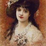 portrait-de-jeune-fille-de-emile-eisman-semenowsky