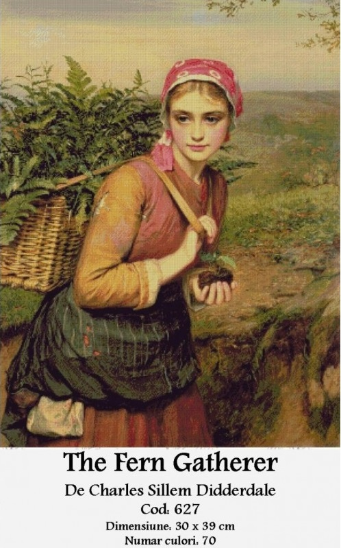 the-fern-gatherer-de-charles-sillem-didderdale