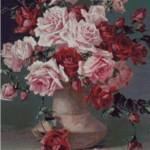 Kit goblen – Trandafiri de C. Klein