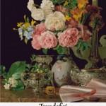 Set Goblen – Trandafiri de Ferdinand Georg Waldmuller