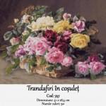 Kit Goblen – Trandafiri în coșuleț