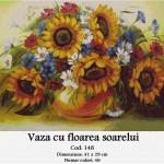 Kit goblen – Vază cu floarea soarelui