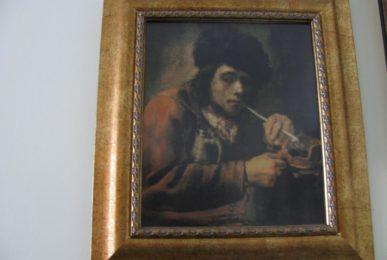 Goblen personalizat - Fumatorul cu pipa