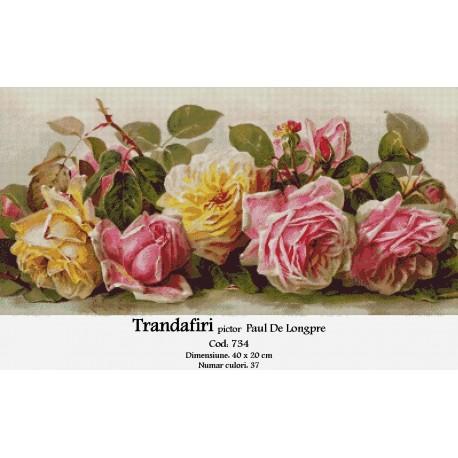 Trandafiri de Paul De Longpre