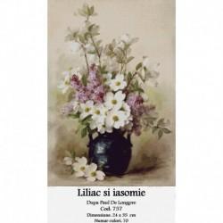 Liliac si iasomie de Paul Delongpre