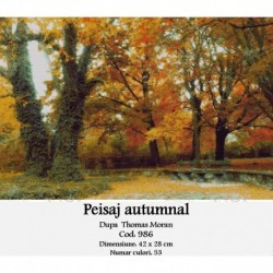 Peisaj autumnal de Thomas Moran