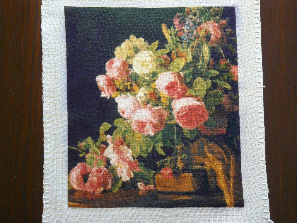 Goblen cusut – Buchet de Trandafiri