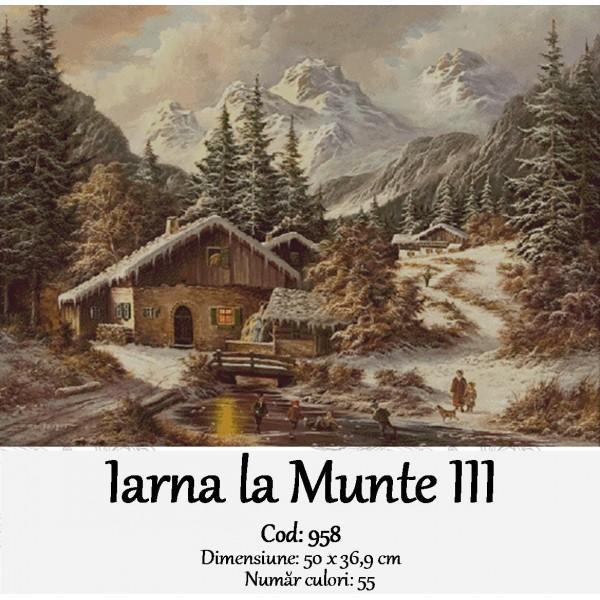 Kituri goblen – iarna la munte