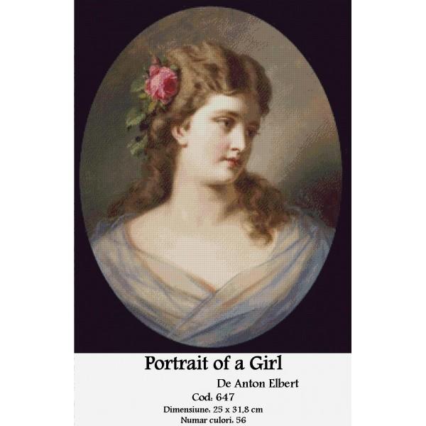 Set Goblen – Portrait of a Girl
