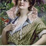Set Goblen – Portrait d'une jeune femme